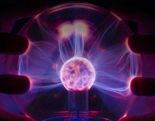 glowing plasma orb