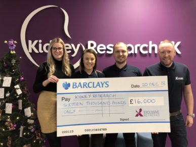 Exclusive Networks Charity Review