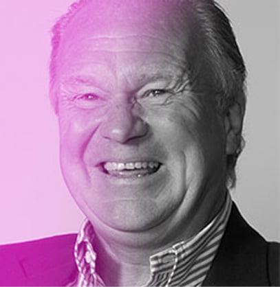 Neil Ledger with purple gradient