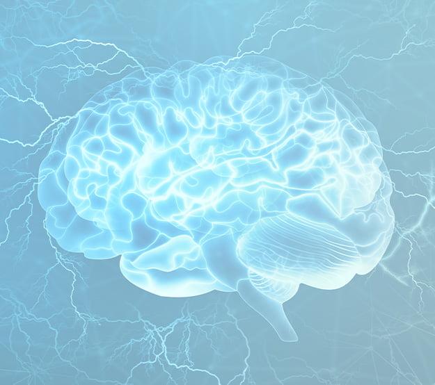 silver sparking brain